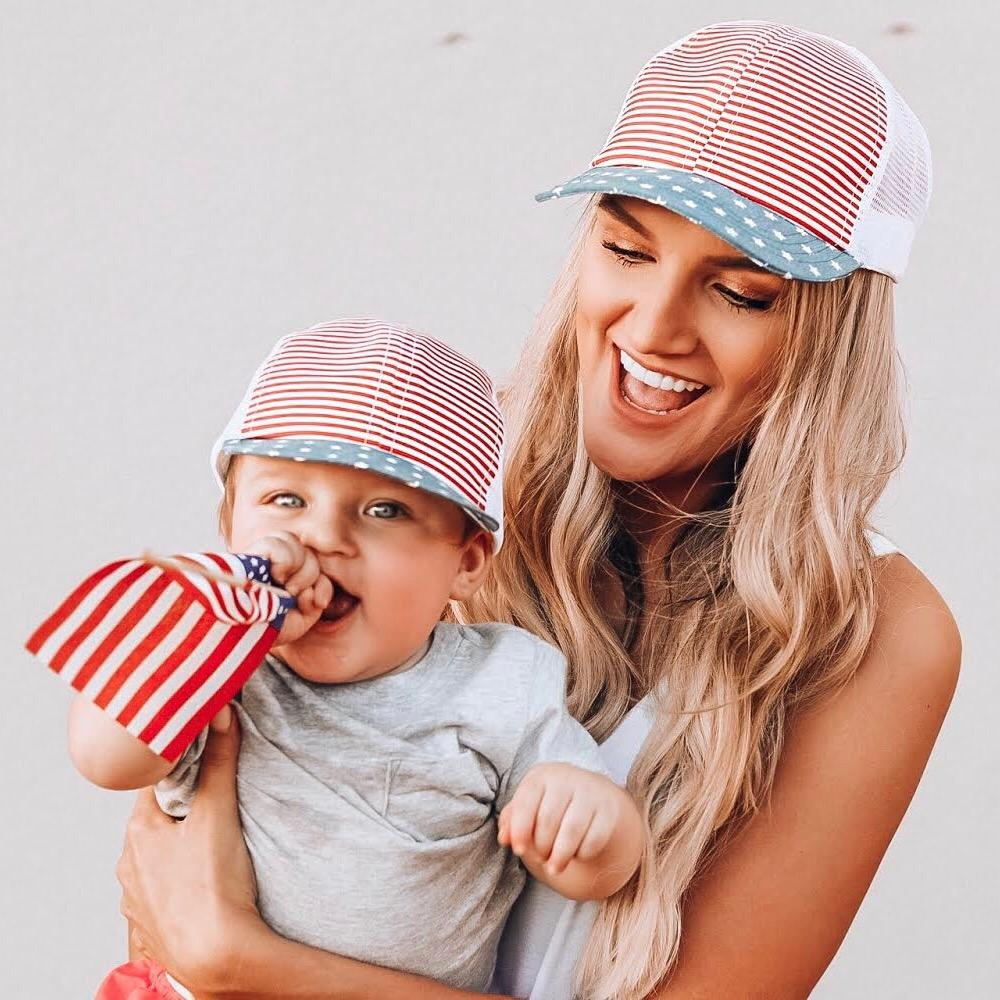 Patriotic Trucker - George Hats