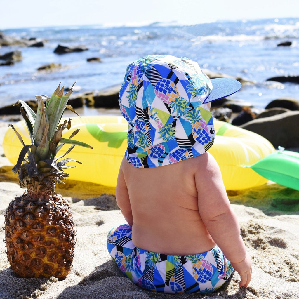 Pineapple Sun Hat - George Hats