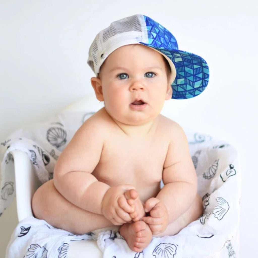 Sale Watercolor Blue - George Hats