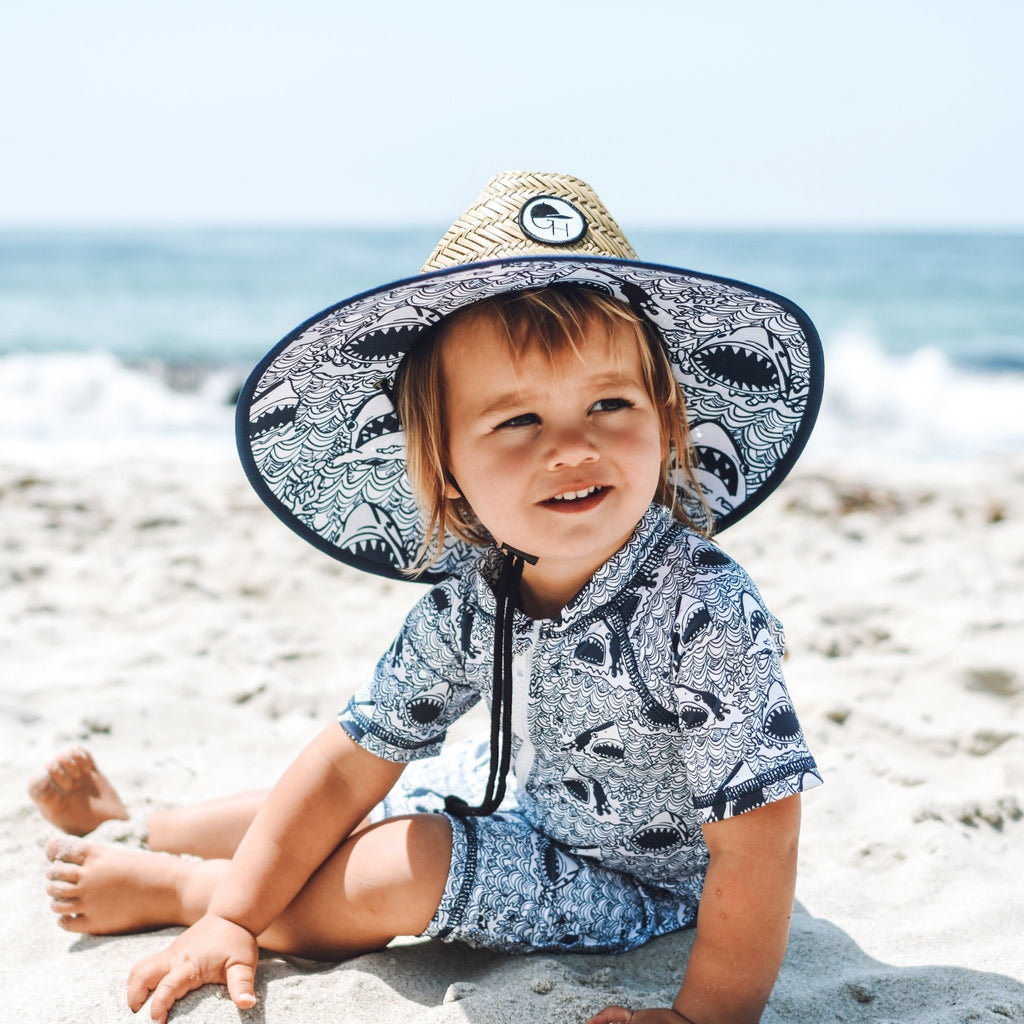 Sharks Sunsuit - George Hats