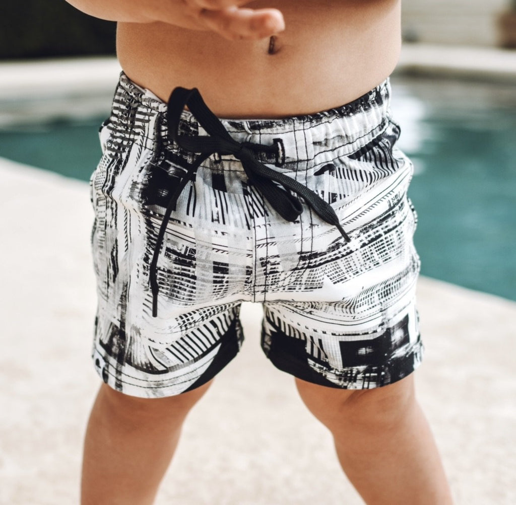 Sketch Swim Shorts - George Hats