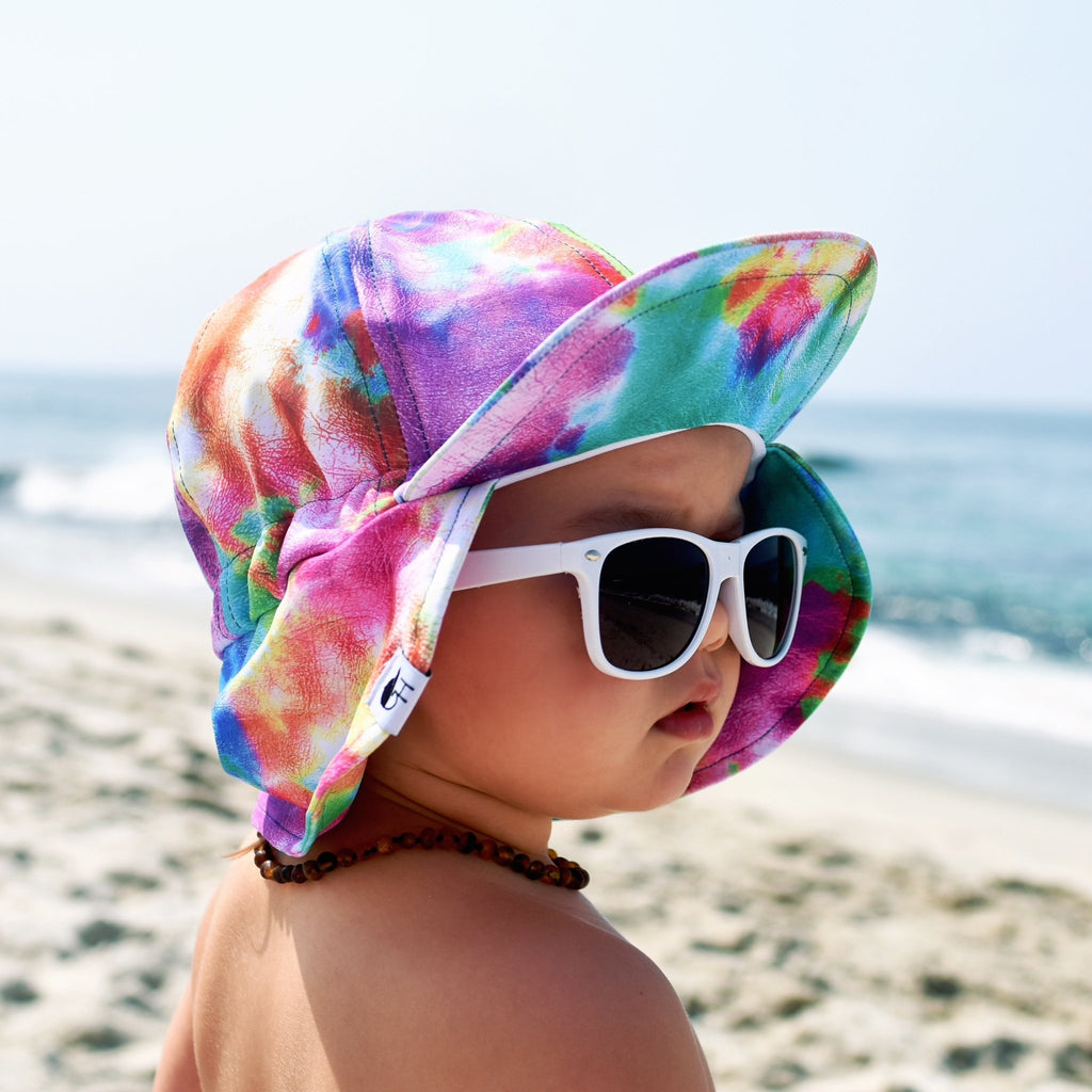 Summer Splash Tie Dye Sun Hat - George Hats
