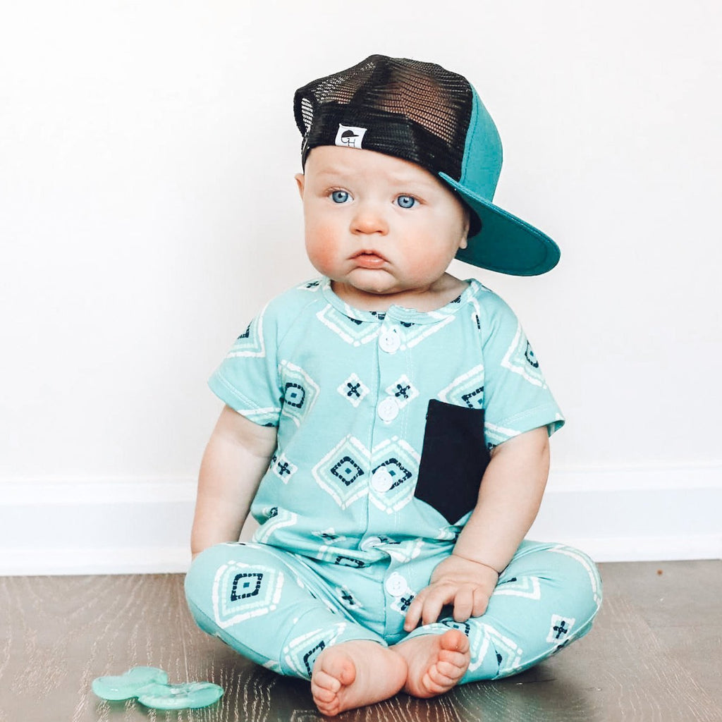 Teal Trucker - George Hats
