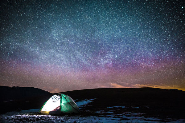 How to camp under the Stars
