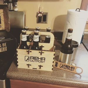 Six Pack Puzzle Beer Carrier