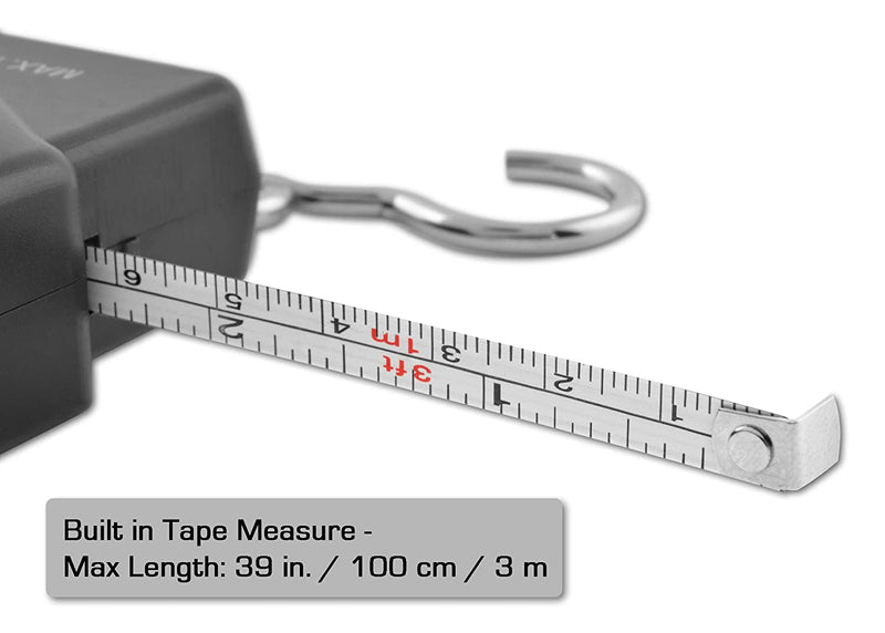 Digital LCD Scale and Ruler