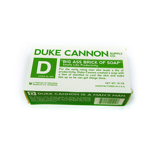 "Duke Cannon ""Big Ass Brick of Soap""  <b><br><font color=red>MEMBER PRICING EXCLUSIVE $6</font></br><b>"