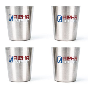 Metal Shot Glasses