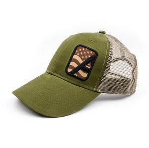 Alpha Outpost Patriot Logo Hat
