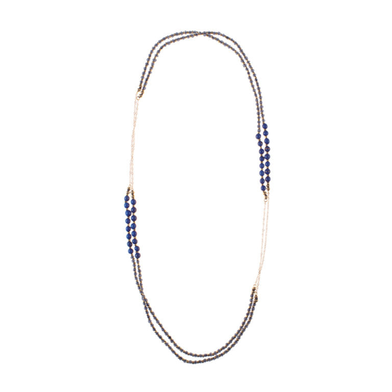 Barcelona Rope Necklace Blue