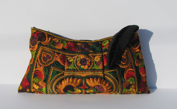 Hmong Clutch Purse with Wrist Strap Click To See Colors