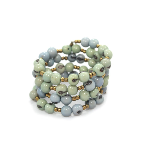 Color Block Wrap Bracelet Ether