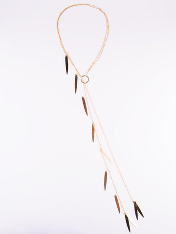 Dreamcatcher Necklace - Gold
