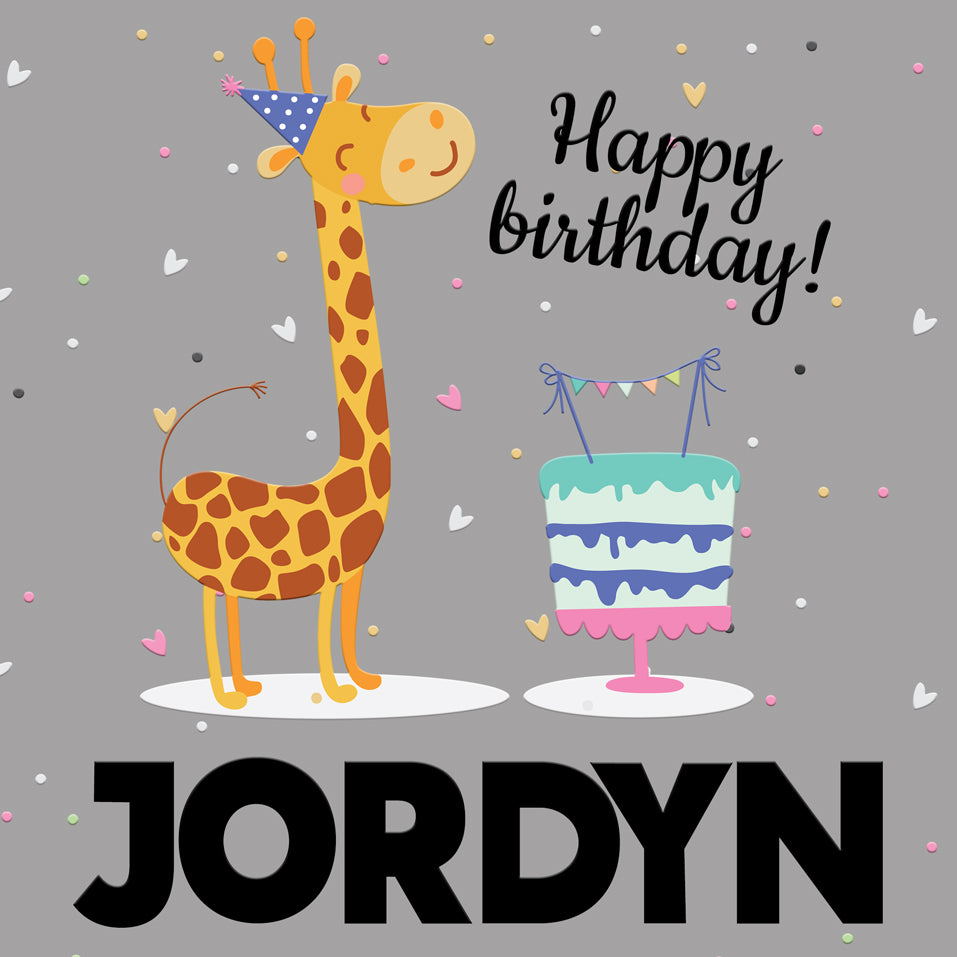 BirthdayTote_Giraffe_Grey