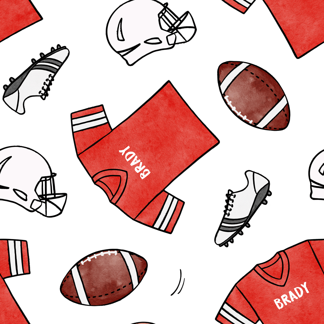Football_Red_White
