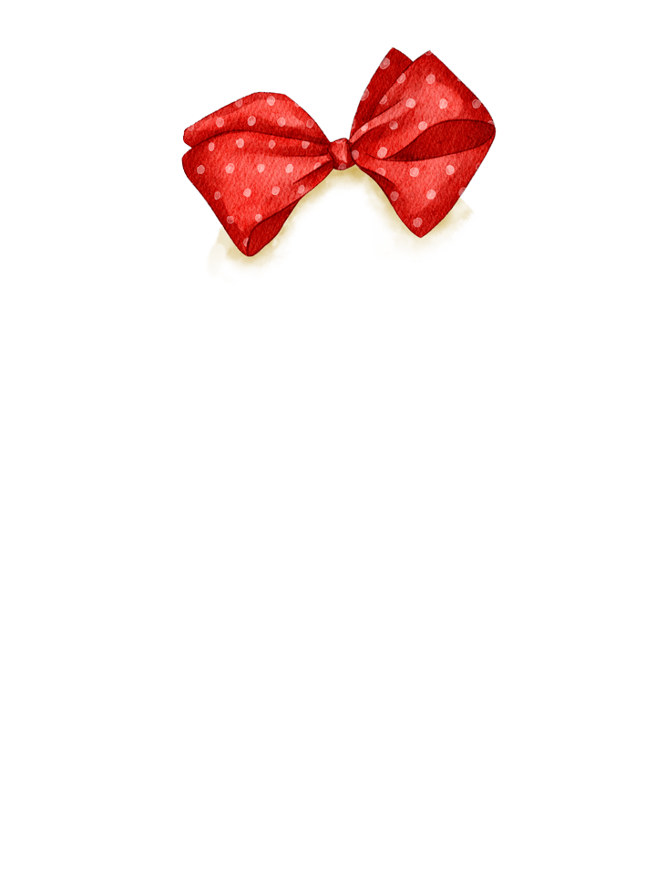Gingerbread_Bow_Red