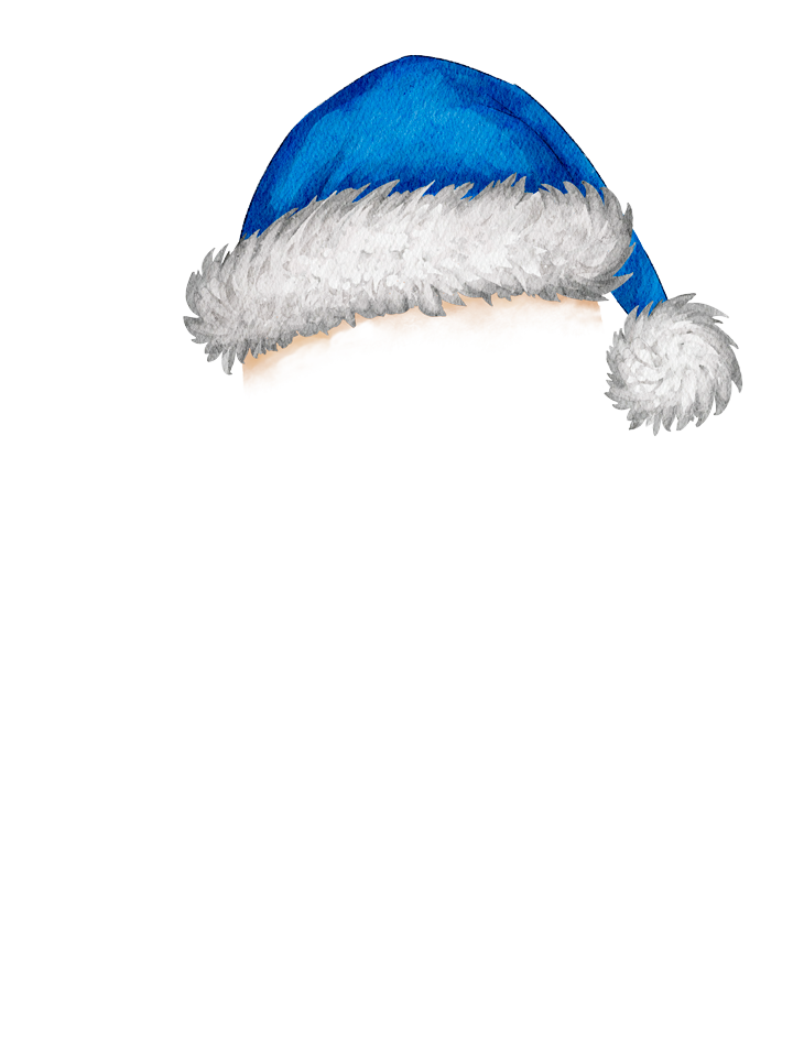 Gingerbread_Hat_Blue