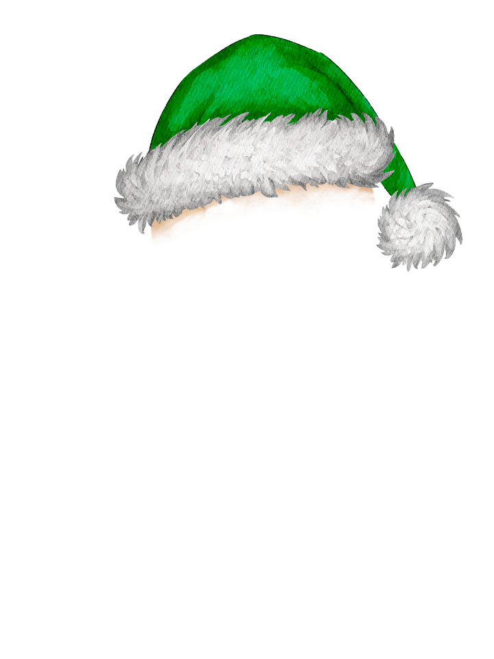 Gingerbread_Hat_Green