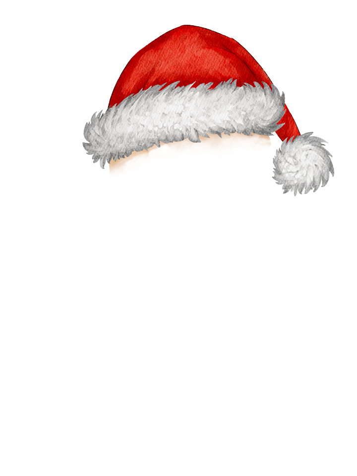 Gingerbread_Hat_Red