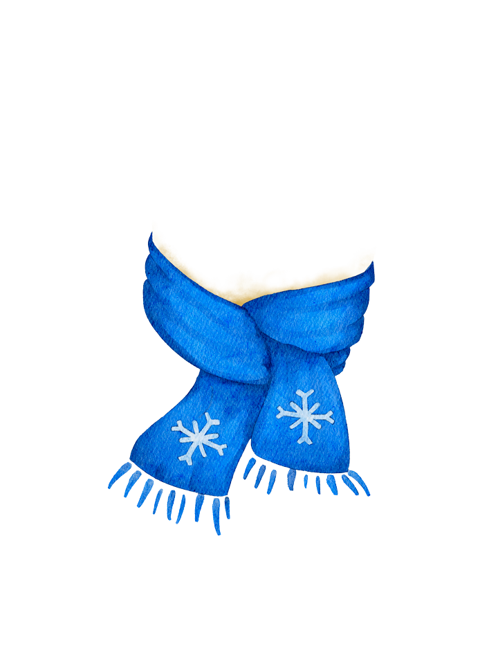 Gingerbread_Scarf_Blue