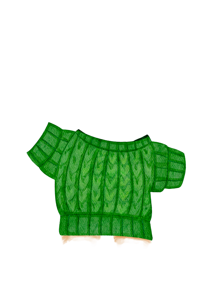 Gingerbread_Sweater_Green