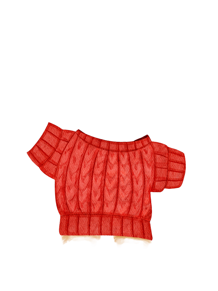 Gingerbread_Sweater_Red