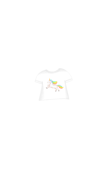 Girl_TeeShirt_UnicornBright
