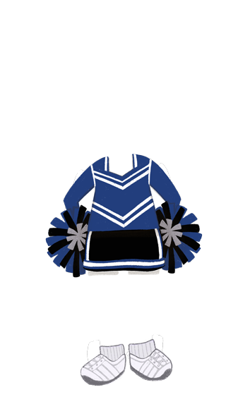 girl_outfit_Cheerleader_BLUE
