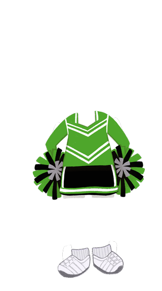 girl_outfit_Cheerleader_GREEN