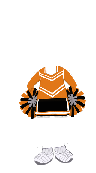 girl_outfit_Cheerleader_ORANGE