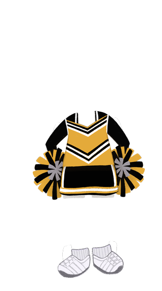 girl_outfit_Cheerleader_YELLOW