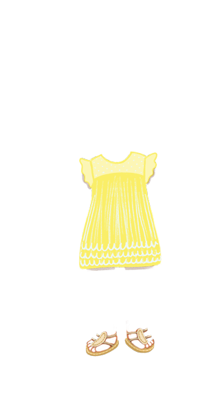 girl_outfit_flutter_yellow