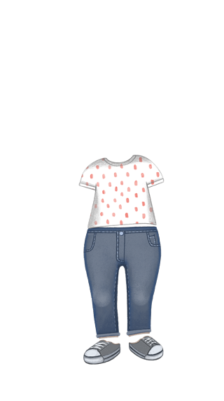 girl_outfit_jeansTee_pinkpolkadots
