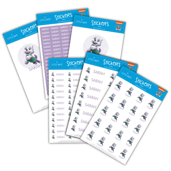 Sticky Labels Sport Pack - Paw Patrol