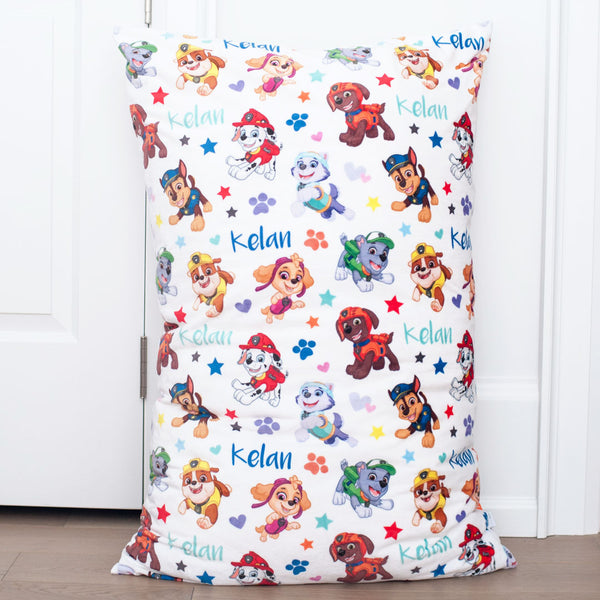 Paw Patrol - Personalized Kid Floor Cushion