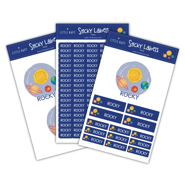 Sticky Labels Sport Pack