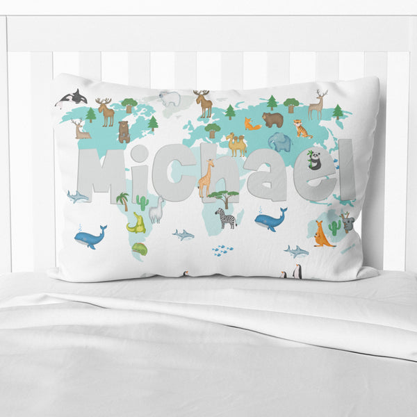 Animal World - Pillowcase