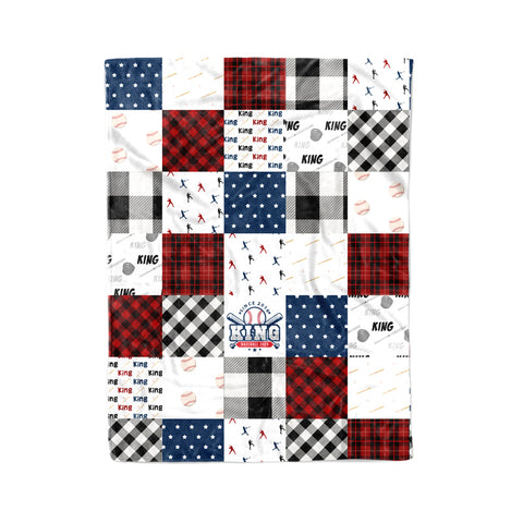 Personalized Quilt Style Blanket