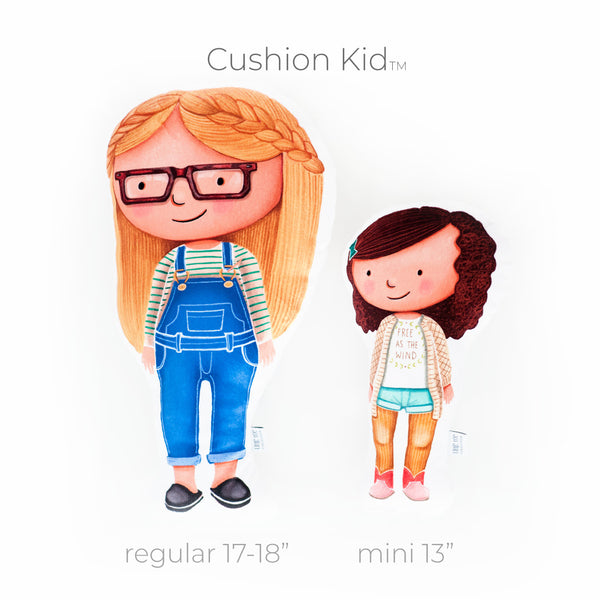 Little Me Collection - Cushion Kid™ + Blanket Combo