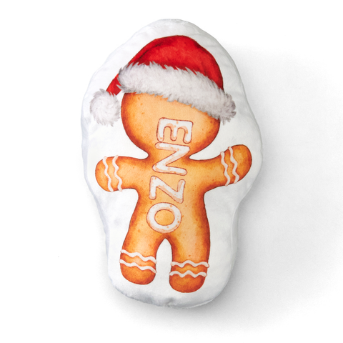 Personalized Gingerbread Cookie