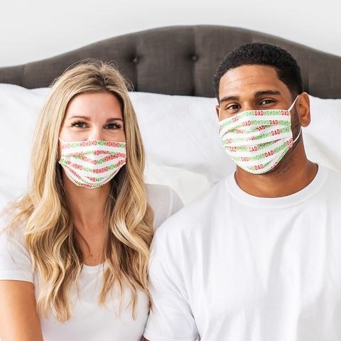 Personalized Face Masks - Holiday 2020