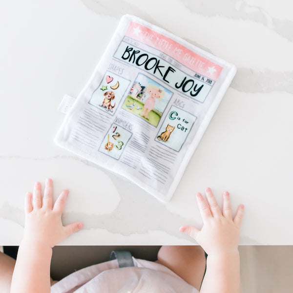 Little Me Cushion Kid and Newspaper Bundle