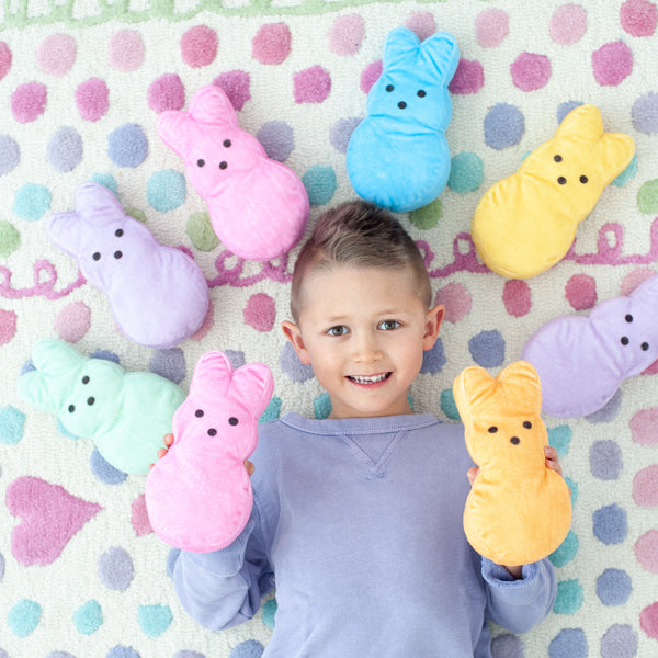 Personalized Plush Marshmallow Bunny (3 Pack)