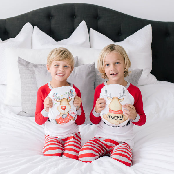 Personalized Plush Reindeer