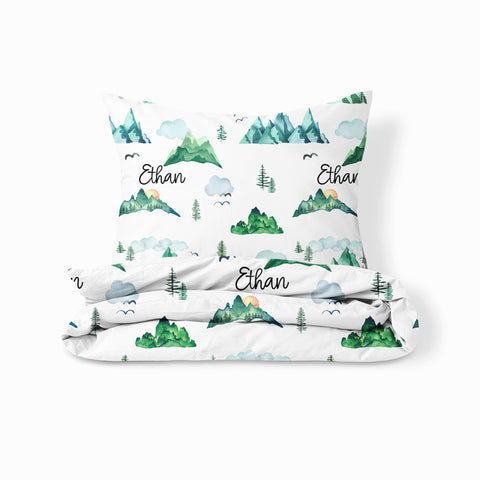 Personalized Twin Sheet and Pillowcase Set