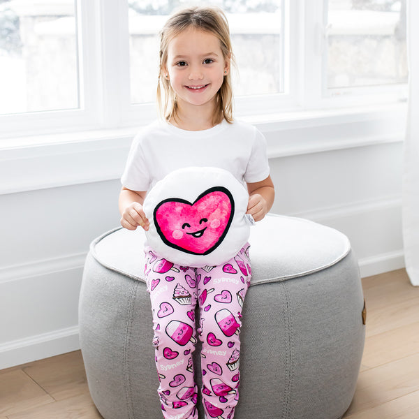 Valentine's Day Personalized Leggings - Kids
