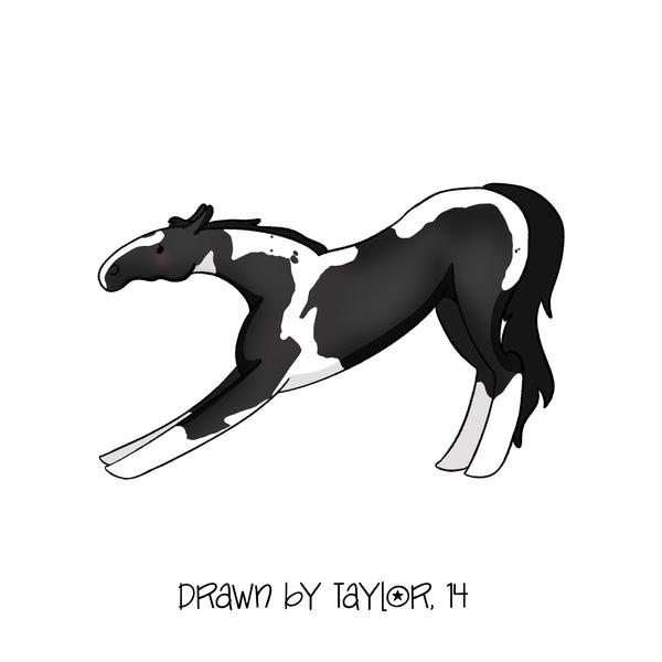 Personalized Horse Stickers - by Taylor