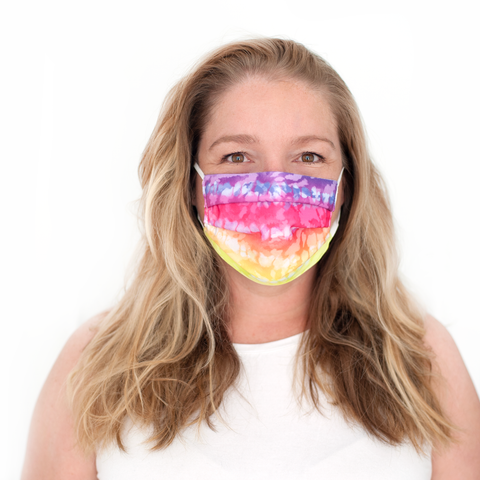 Personalized Face Masks - Camo & Tie Dye Designs