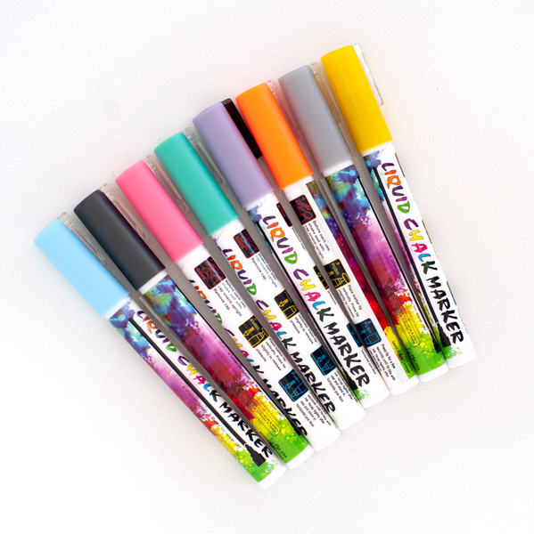Personalized Sign - Marker 8 Pack