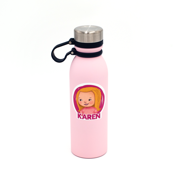Sticky Labels Water Bottle Pack - Little Me